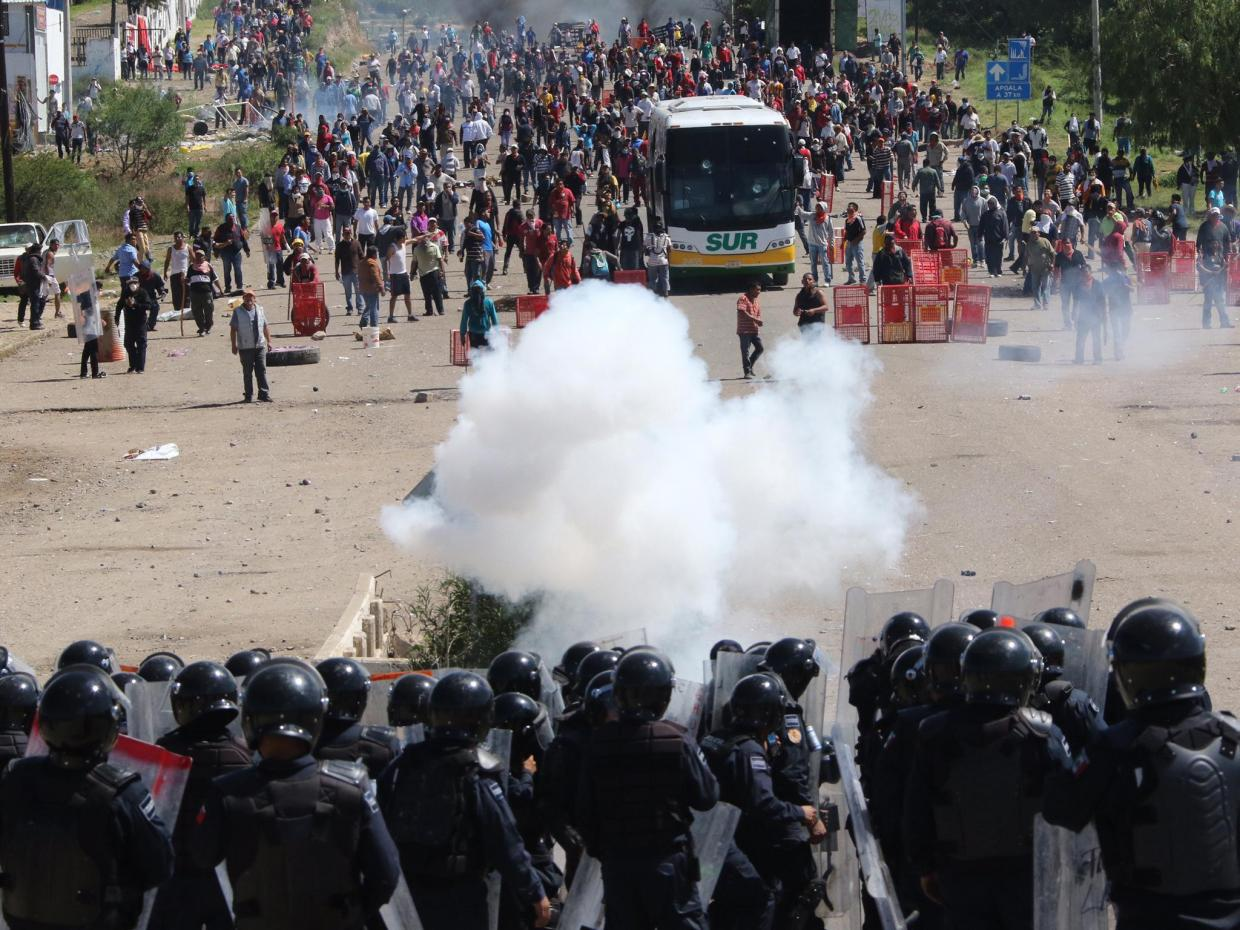 Image result for oaxaca rebellion 2006