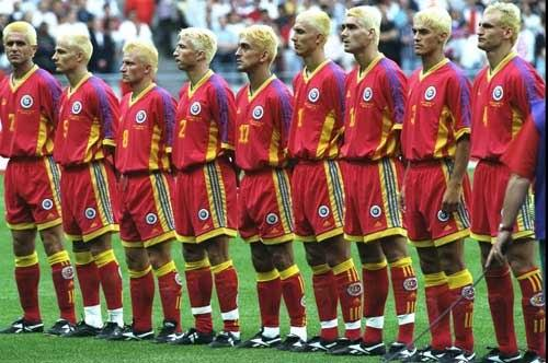 World Cup 2014 Countdown Romania Go Blonde In 1998 The