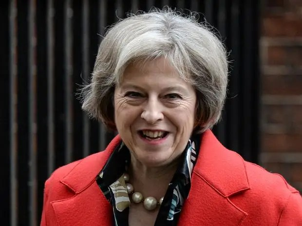 Home Secretary Theresa May Getty
