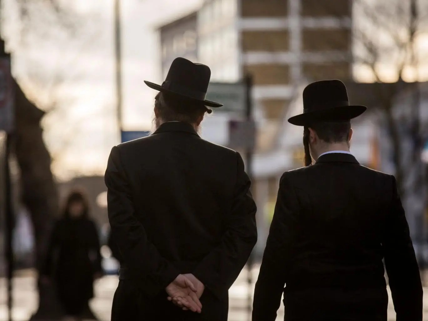 Three Year Old Ultra Orthodox Jewish Children Told The