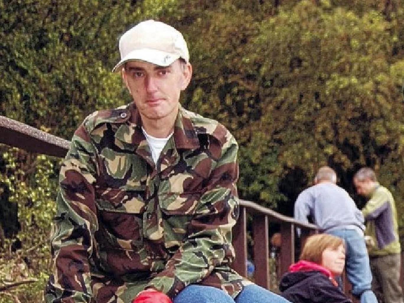 Jo Cox murder suspect Thomas Mair in paramilitary uniform