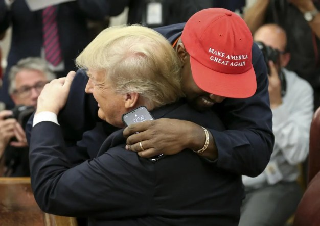 Image result for Kanye West's meeting with Trump: The strongest reactions, from TI and Axl Rose to Frankie Boyle