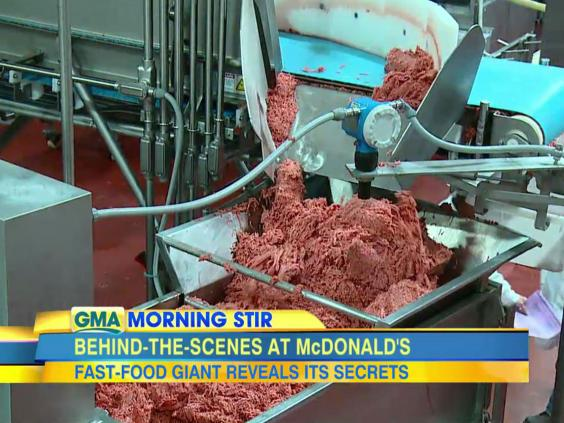 McDonald's answers pink slime and worm meat rumours by ...