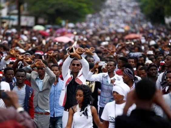 Image result for protests in ethiopia