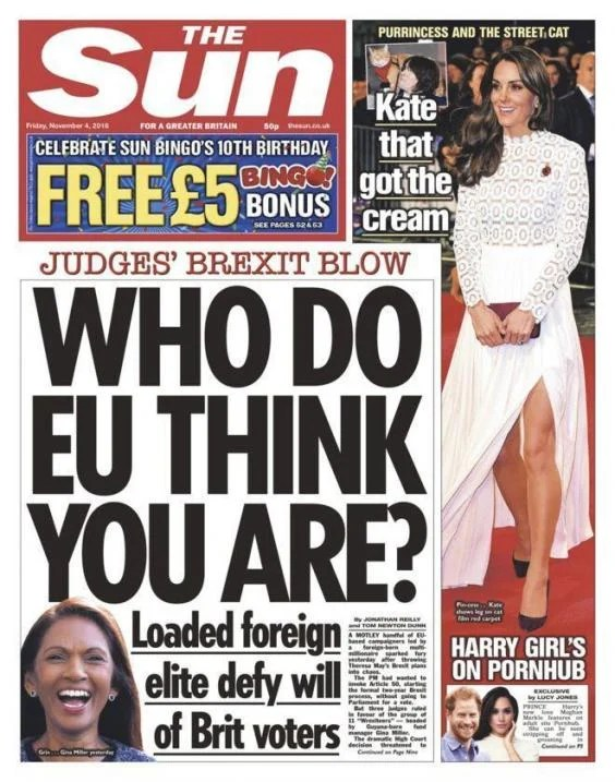 The Daily Mail had the worst response to the Brexit ruling ...