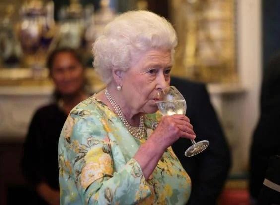 Image result for queen elizabeth a binge drinker