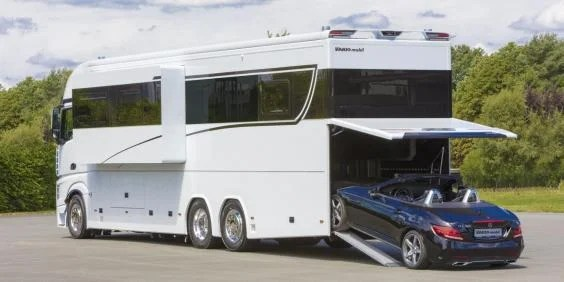 Inside the luxurious 1631 million Mercedes motorhome that