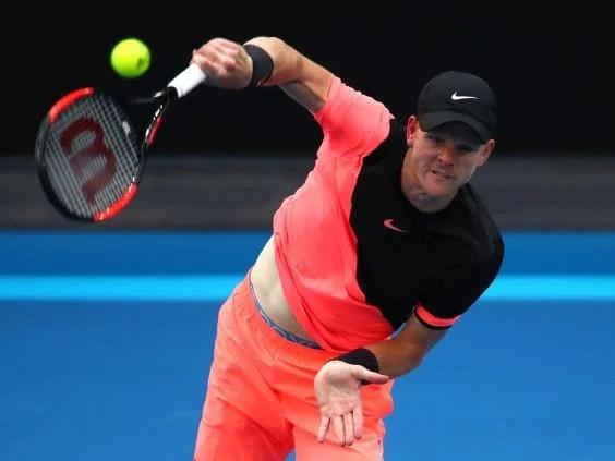 kyle edmund9 - Australian Open 2018: Kyle Edmund reaches Grand Slam quarter-finals for first time with win over Andreas Seppi