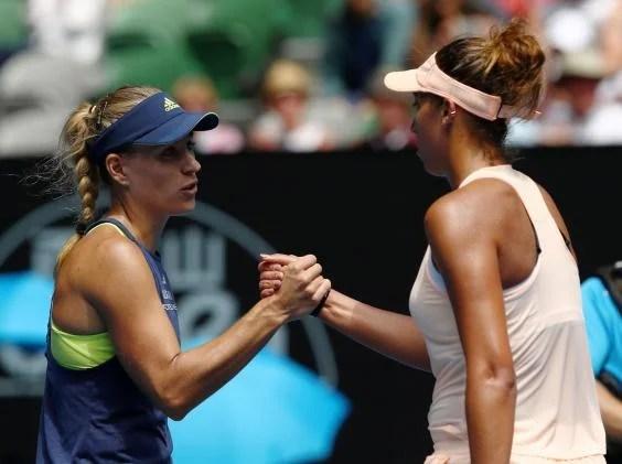 angelique kerber 3 - Australian Open 2018: Angelique Kerber dismantles Madison Keys to set up semi-final with Simona Halep