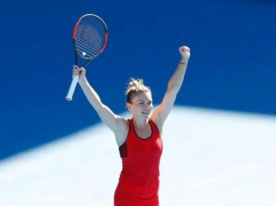 simona halep 5 - Australian Open 2018: Angelique Kerber dismantles Madison Keys to set up semi-final with Simona Halep