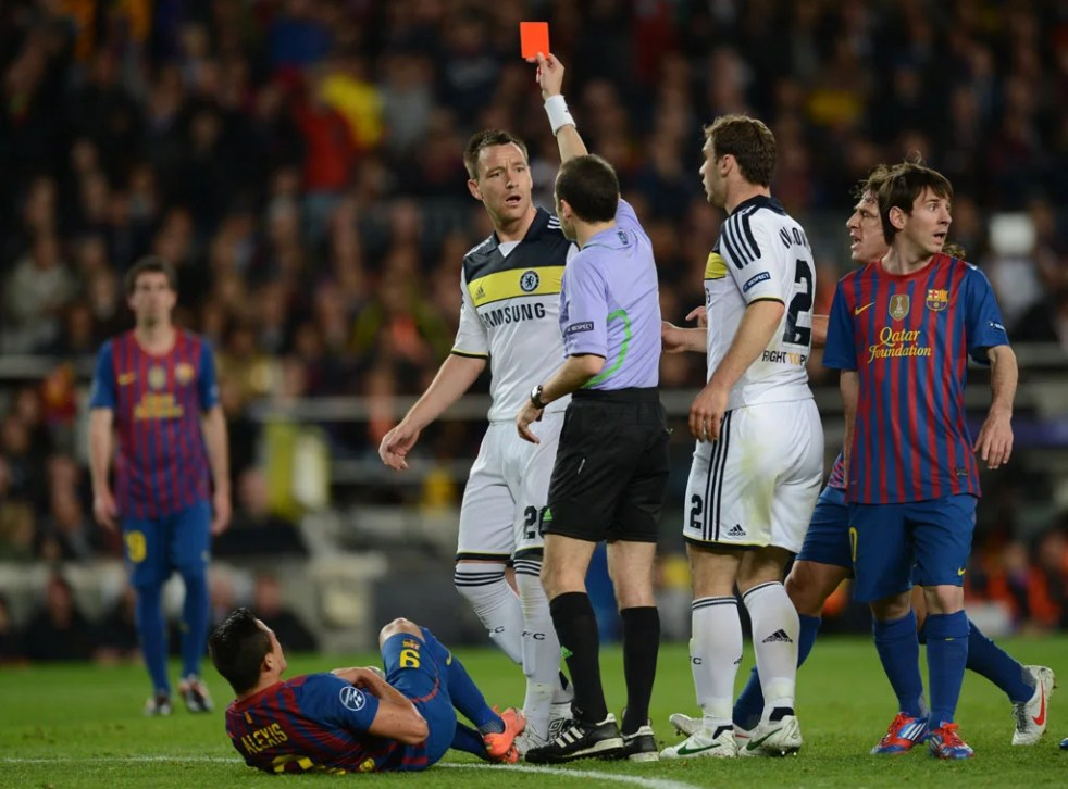 Chelsea captain John Terry has Champions League ban reduced | The  Independent | The Independent