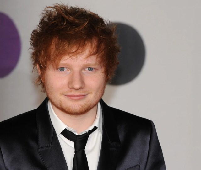 Ed Sheeran Says His Ginger Hair Damaged His Prospects When Trying To Get A Record Deal