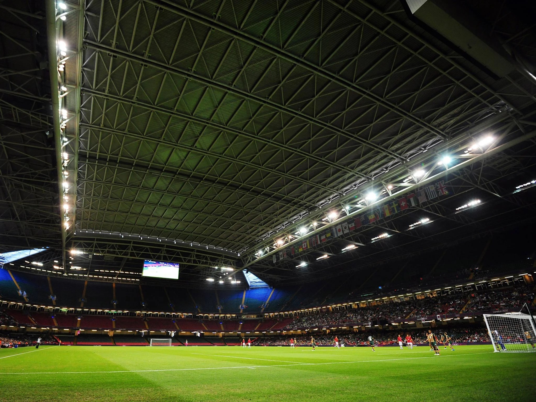 Six Nations Millennium Stadium Roof To Be Closed For
