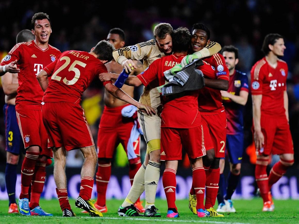 So it's Bayern Munich versus Borussia Dortmund at Wembley - If ...