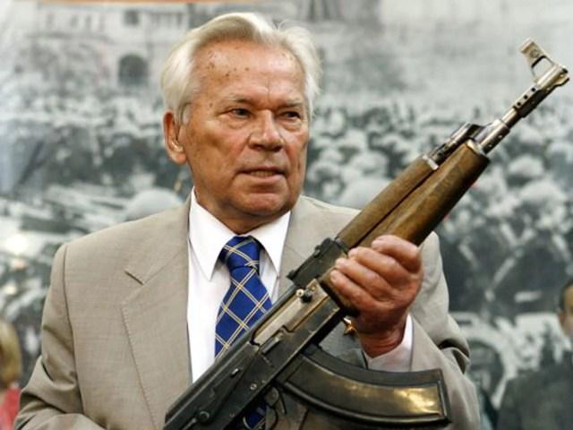 Hasil gambar untuk mikhail kalashnikov
