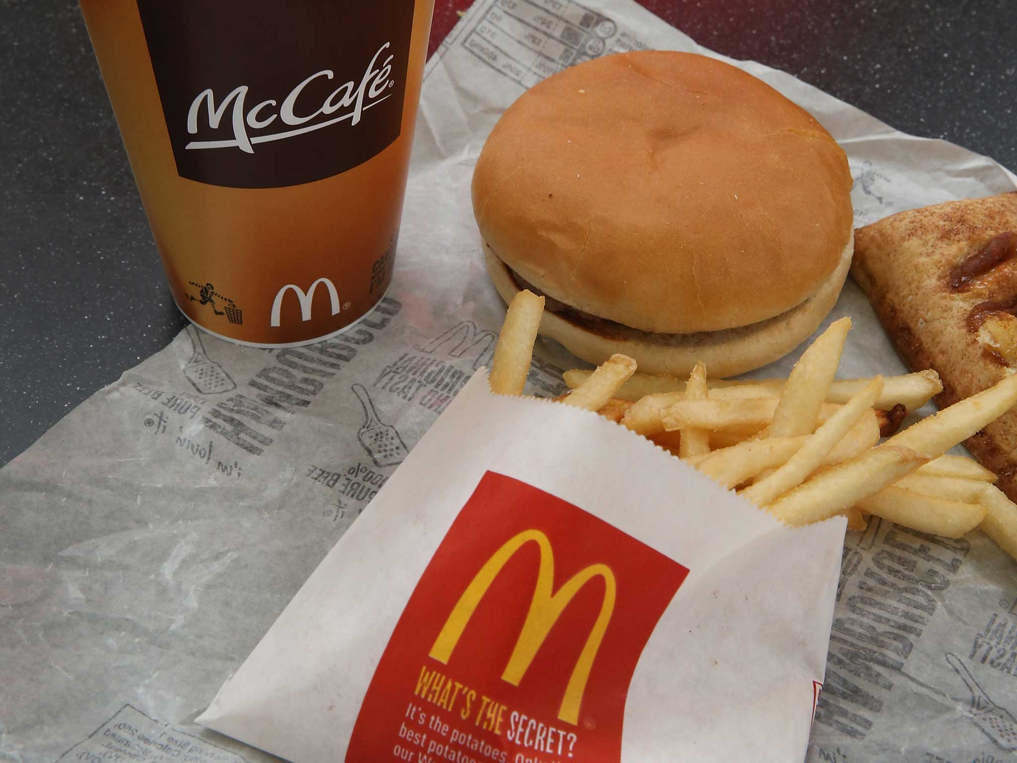 Fast Food Is The Unhealthy Choice Mcdonald S Tells Its