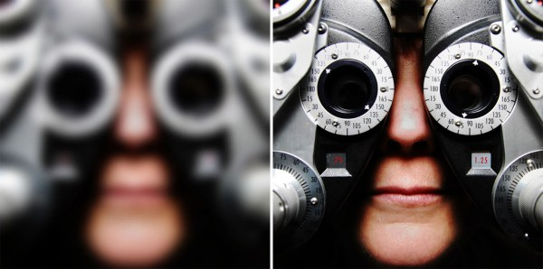 How to see clearly without glasses using a simple trick ...