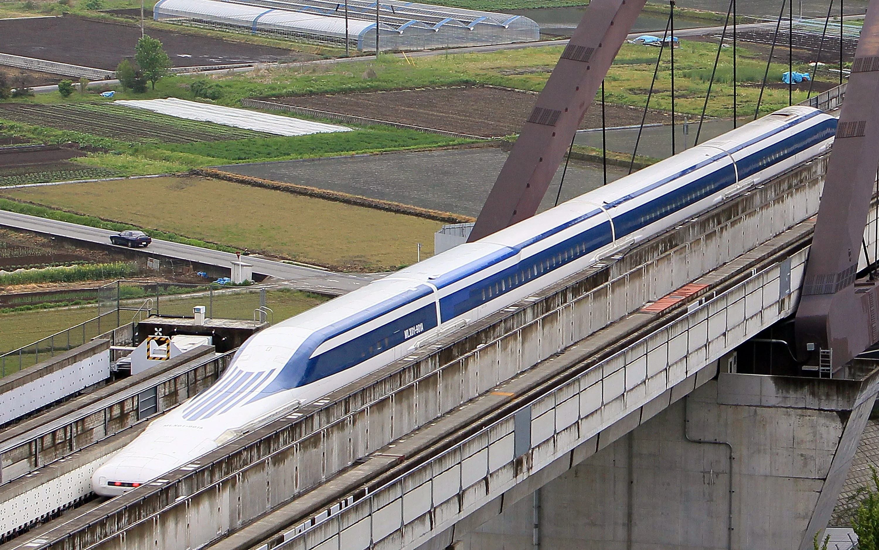 Japan Approves Construction Of Maglev Bullet Train That