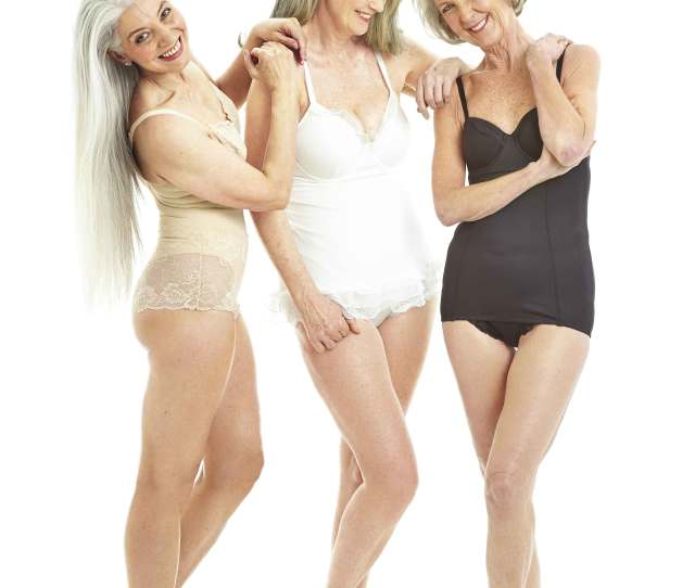 We Can Expect To Be Bombarded With Images Of Young Women Looking Luscious In Lingerie At This Time Of Year But What About The More Mature Woman