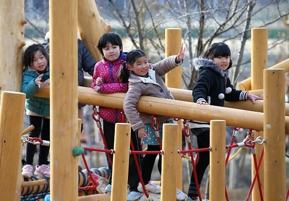 Image result for japanese kids making noise