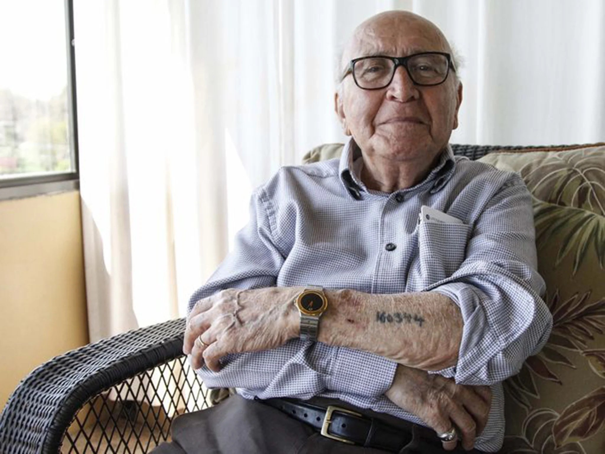 The Holocaust Survivor And The Lucky Lie That Saved His