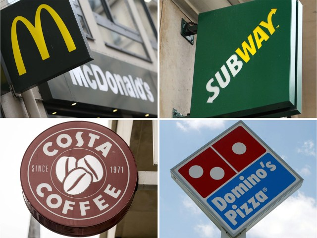 Image result for Coffee Shops/Burger Chains/Subway