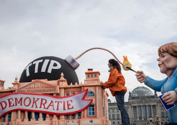 No, we can't protect ourselves from TTIP by leaving Europe ...