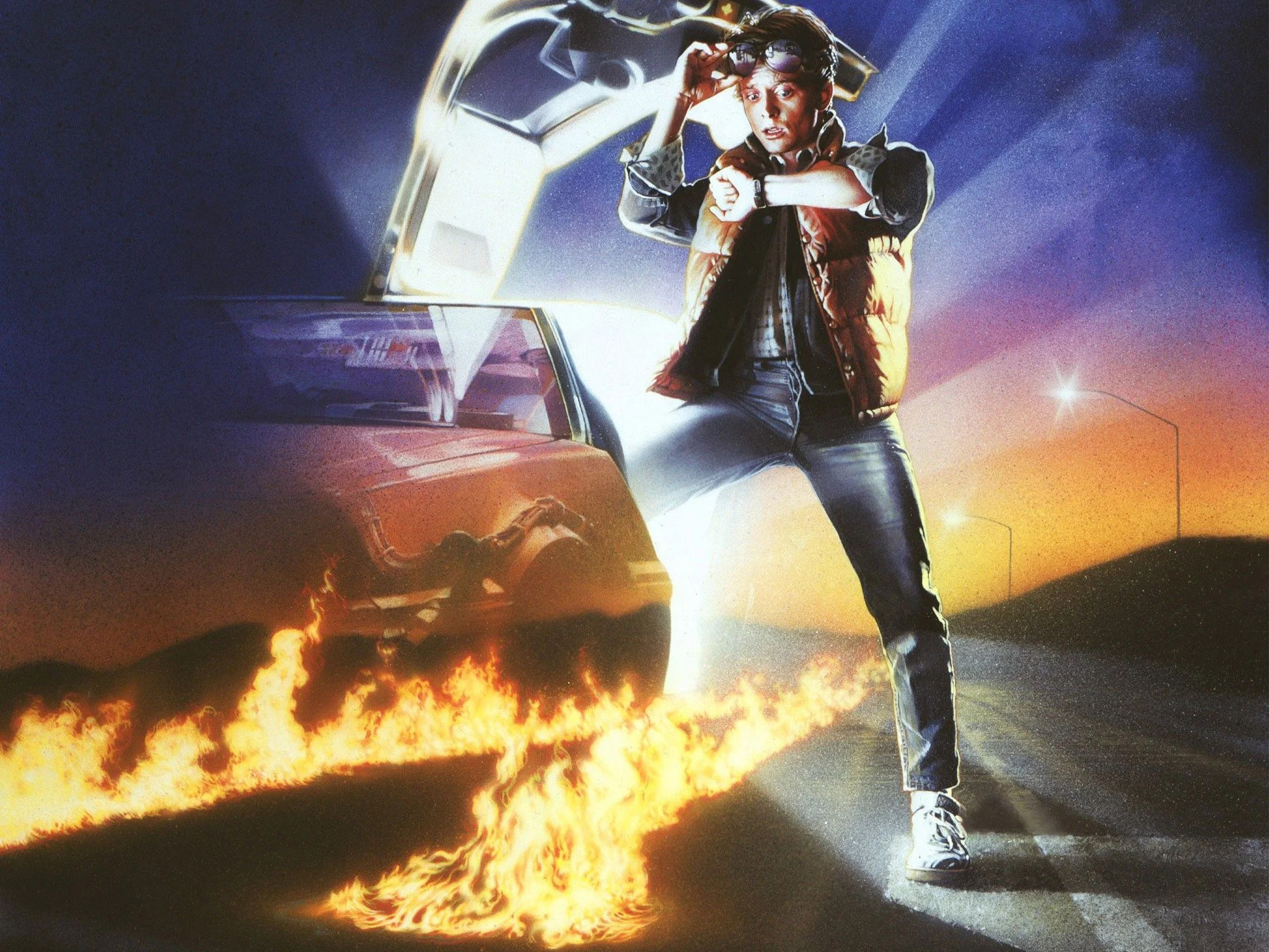 Back To The Future Ii Today Is The Day That Marty Mcfly