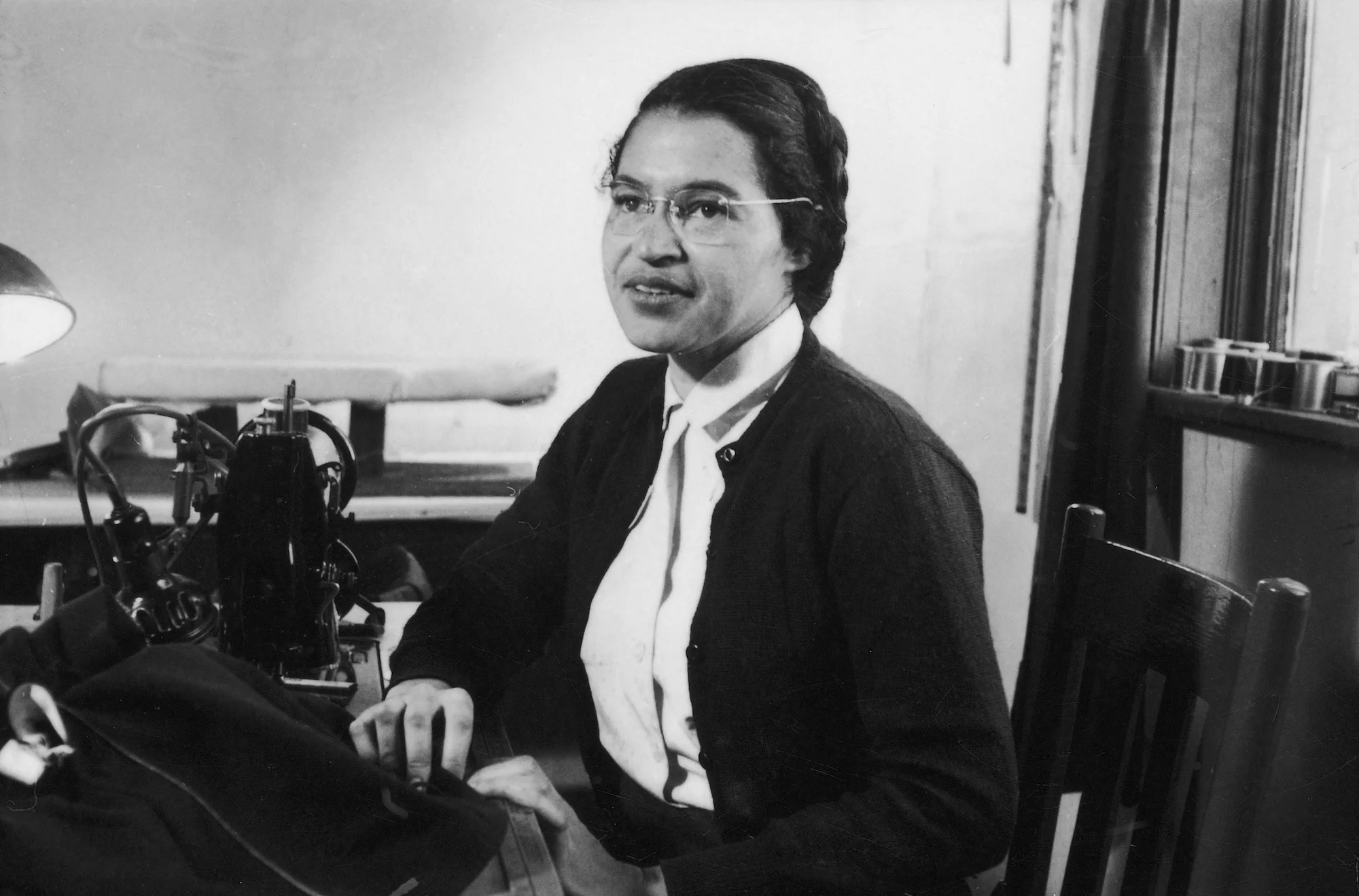 Rosa Parks Refused To Give Up Her Seat On A Segregated Bus