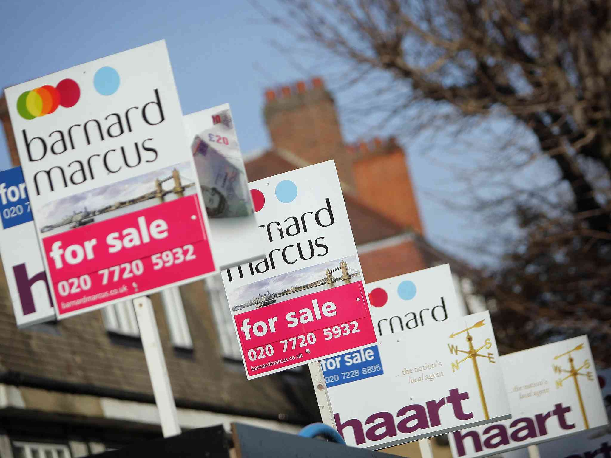 uk house price growth has fallen first time since july 2