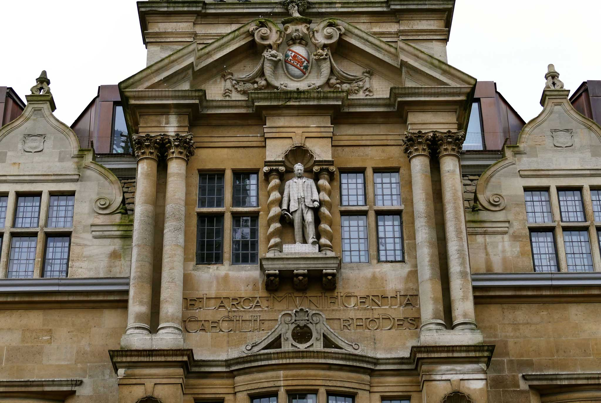 Image result for rhodes statue oxford