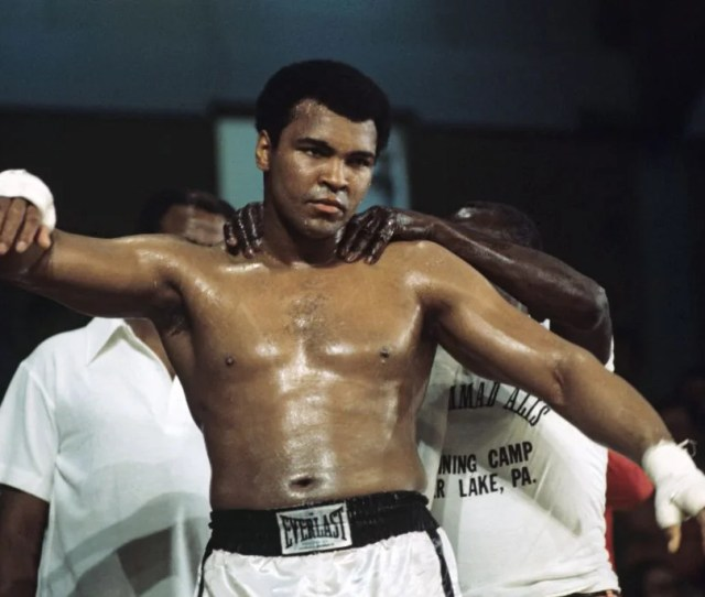 Muhammad Ali Training Ahead Of His Heavyweight Fight Against British Richard Dunn In