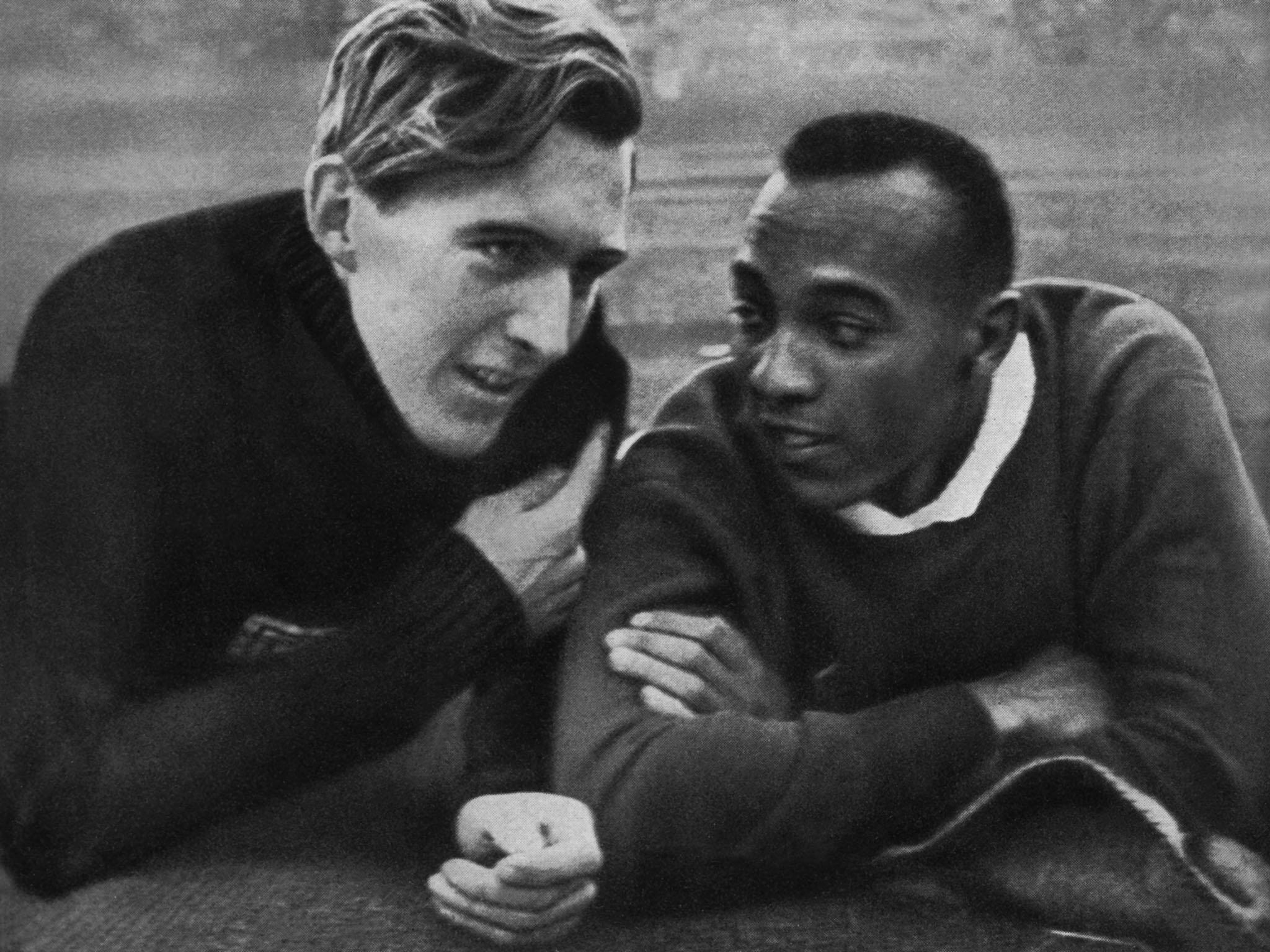 Great Olympic Friendships Jesse Owens Luz Long And A Beacon Of Brotherly Love At The Nazi