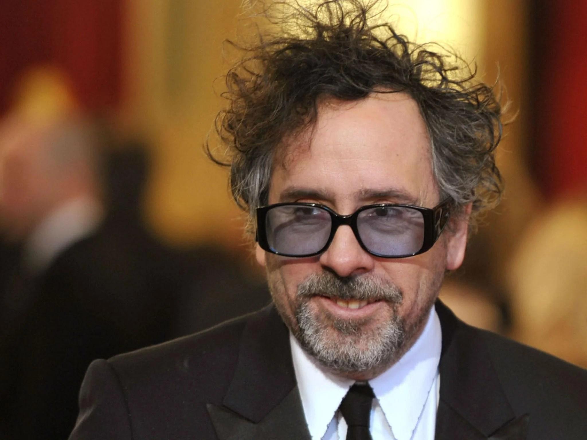 Tim Burton wearing sunglasses