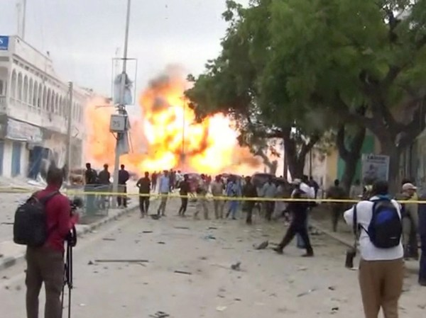 Mogadishu attack: Many dead after gunfire and explosion at ...