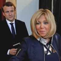 Emmanuel Macron blames 'homophobia' and 'misogyny' for obsession with his older wife - New French President claims that if his wife was 20 years younger than him, nobody would question their relationship