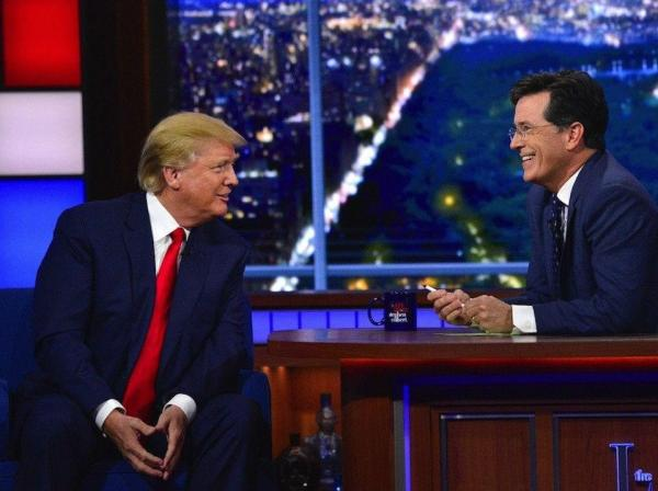 Donald Trump attacks 'no-talent' Stephen Colbert: 'There ...