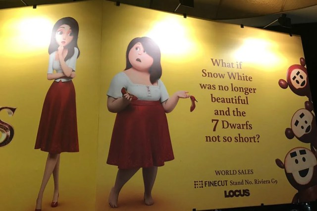 Image result for What if Snow White wasnt beautiful and the seven dwarfs not short.