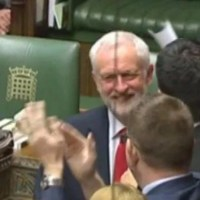 Jeremy Corbyn receives standing ovation on return to House of Commons