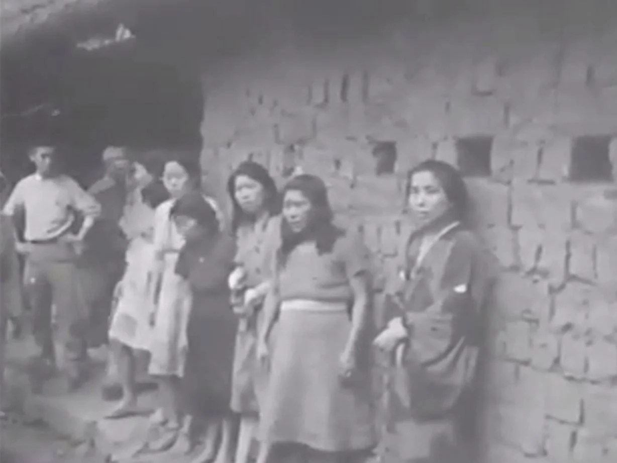 New Footage Shows Korean Comfort Women In Military