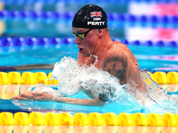Adam Peaty takes second gold but Great Britain miss out in ...
