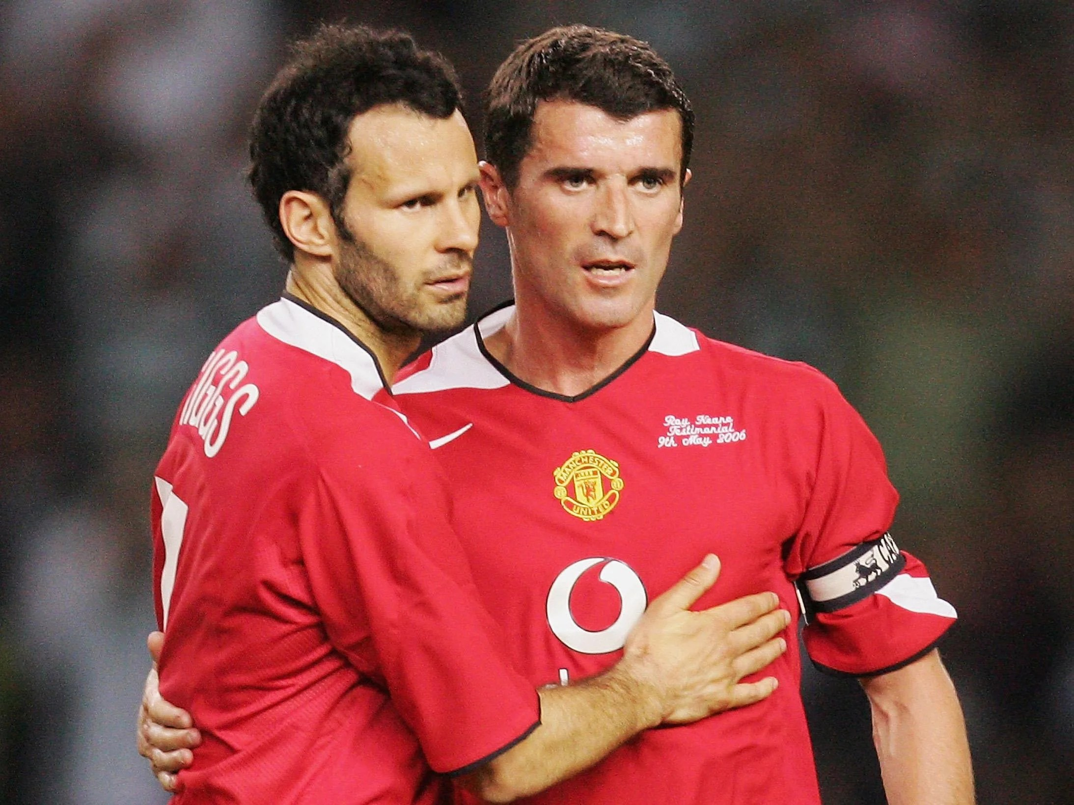 Eric cantona, right, and roy keane have been. Ryan Giggs would be worth £2bn in today's 'mind-boggling ...