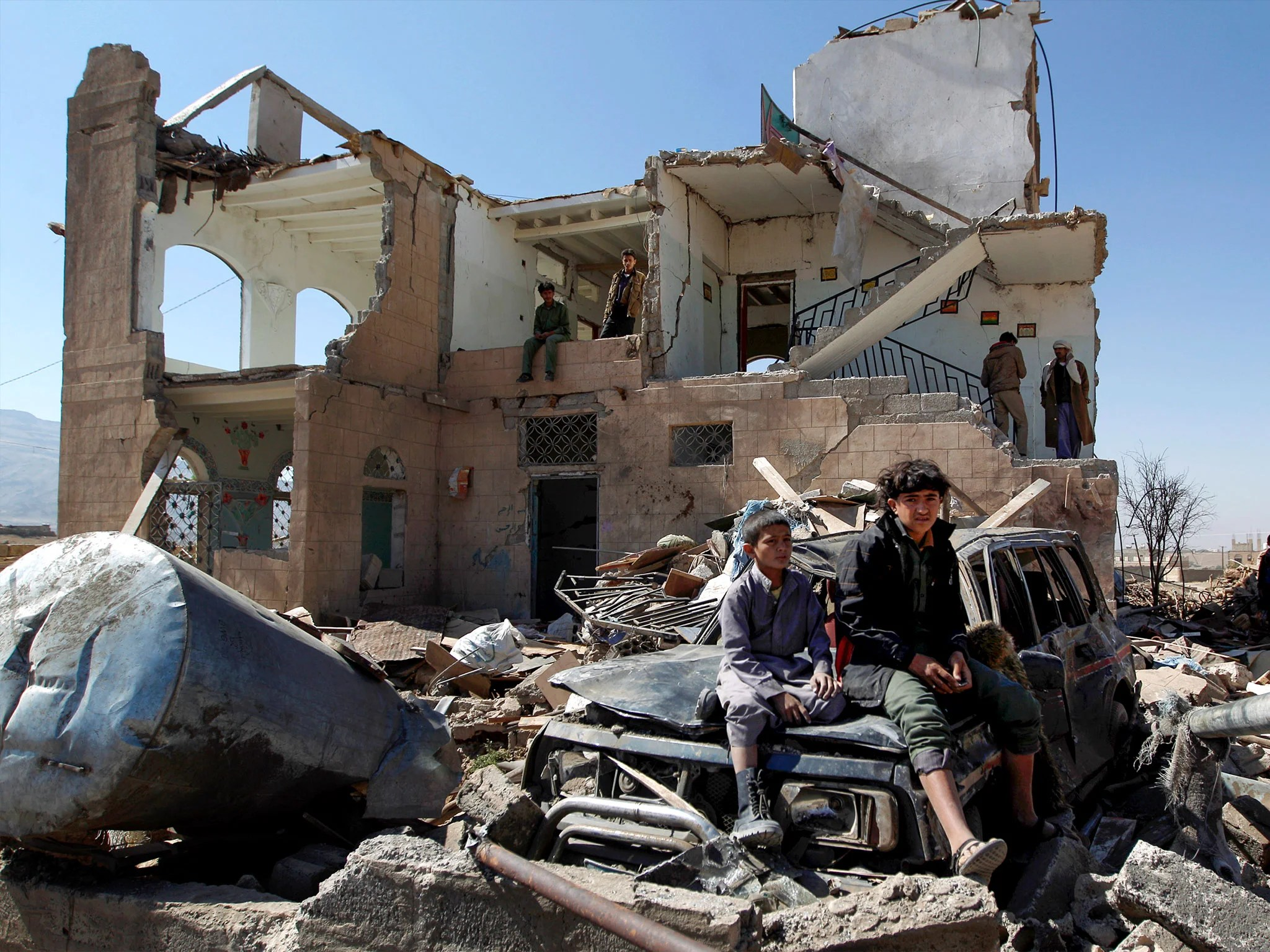 Amid The Carnage In Yemen Civilians Also Face Consequences Of The Us War On Terror