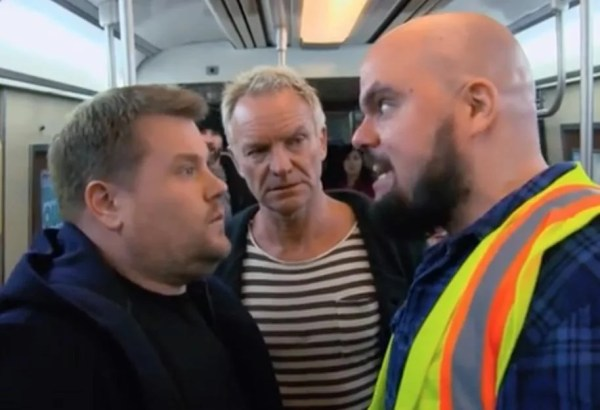 Grammys 2018: James Corden 'punched in the face' as he ...