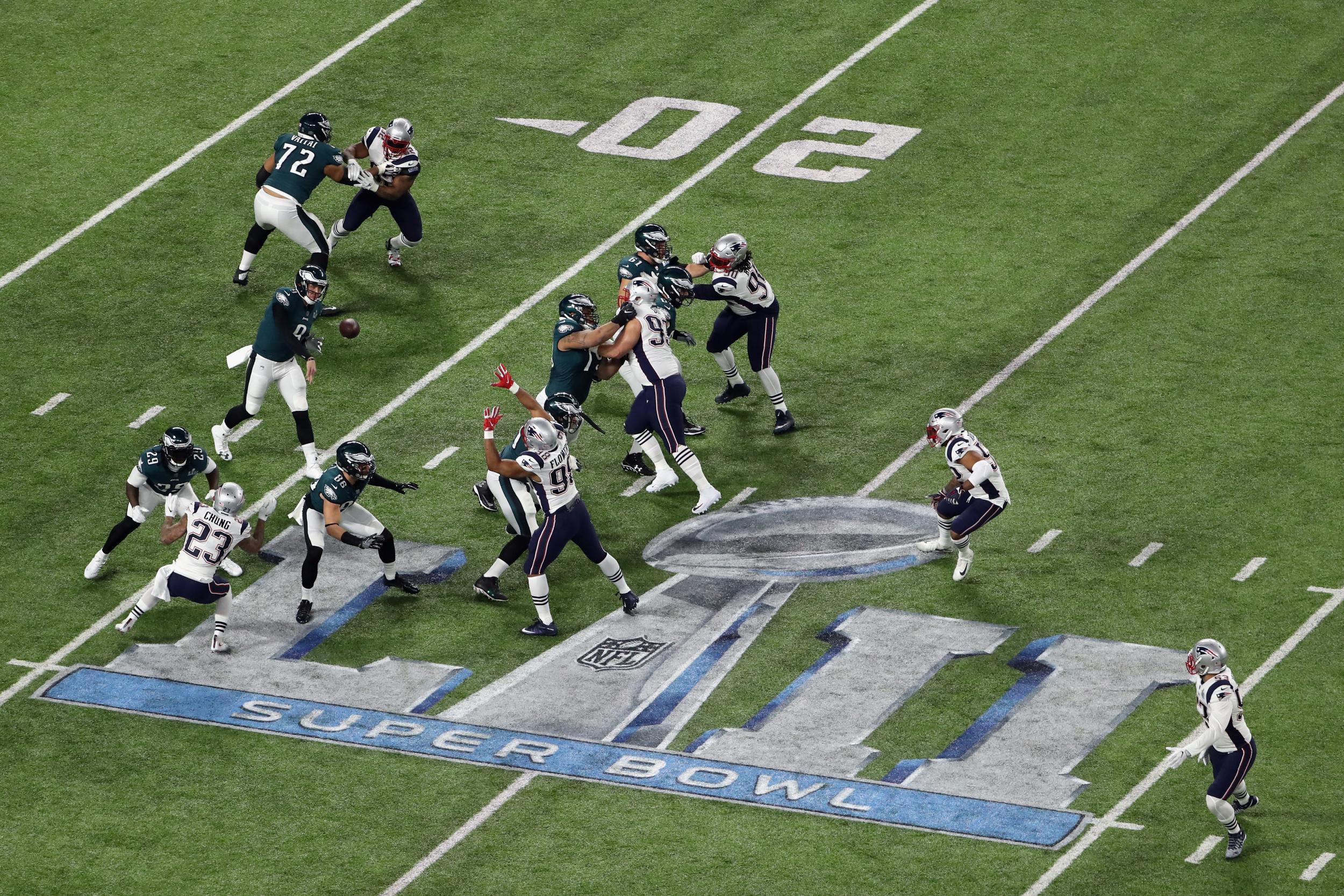 Super Bowl Updates From Philadelphia Eagles Vs New