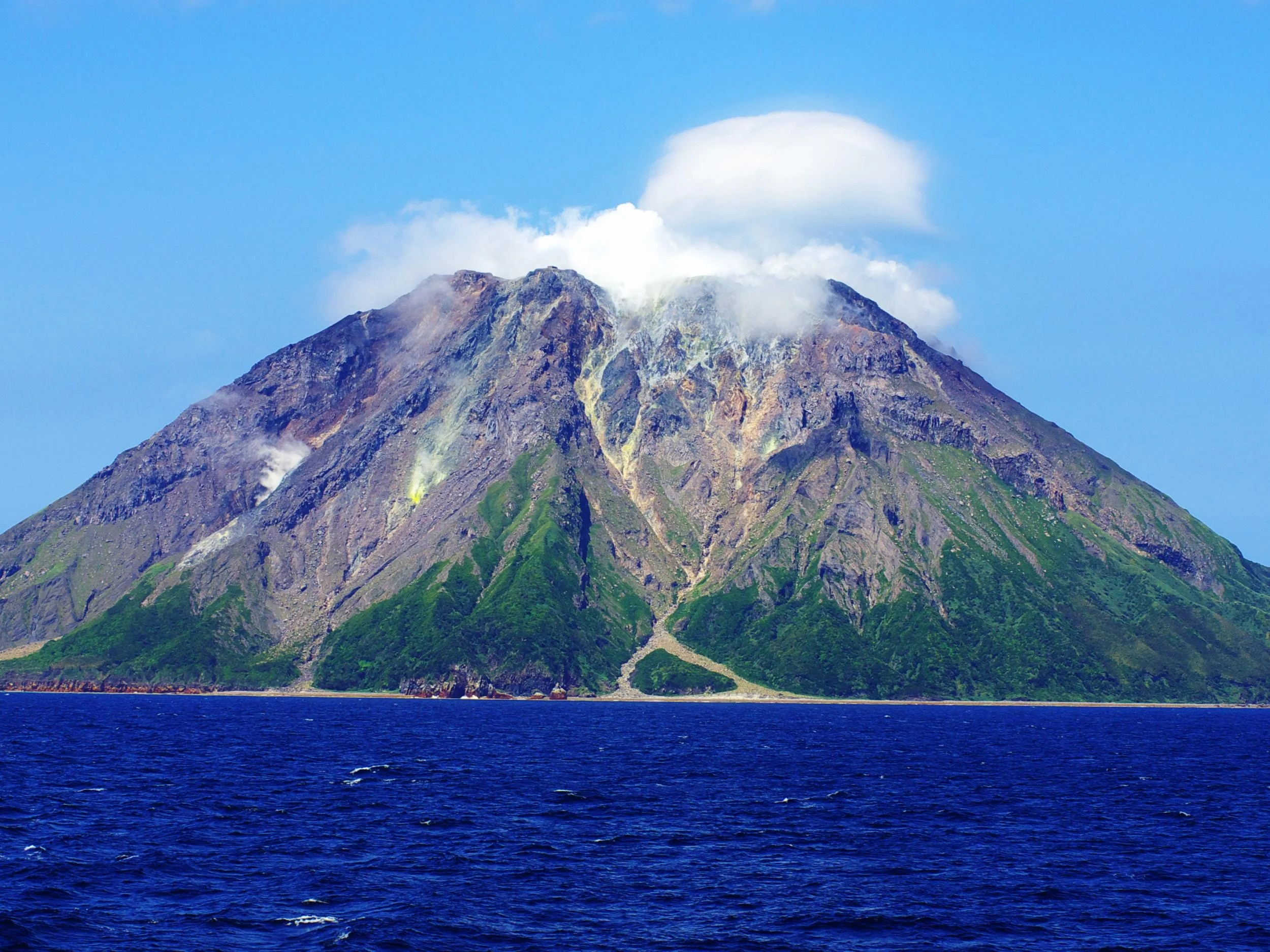 Giant Lava Dome Discovered Growing Inside Japanese