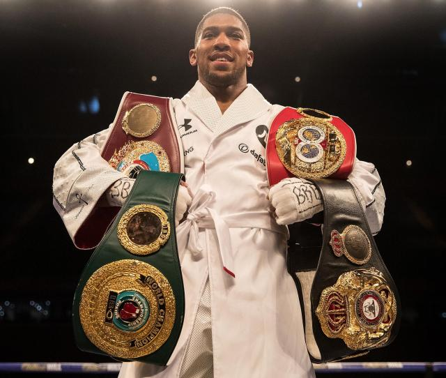 Deontay Wilder And Anthony Joshua Agree Terms To World Heavyweight Unification Fight In The Uk In Autumn The Independent