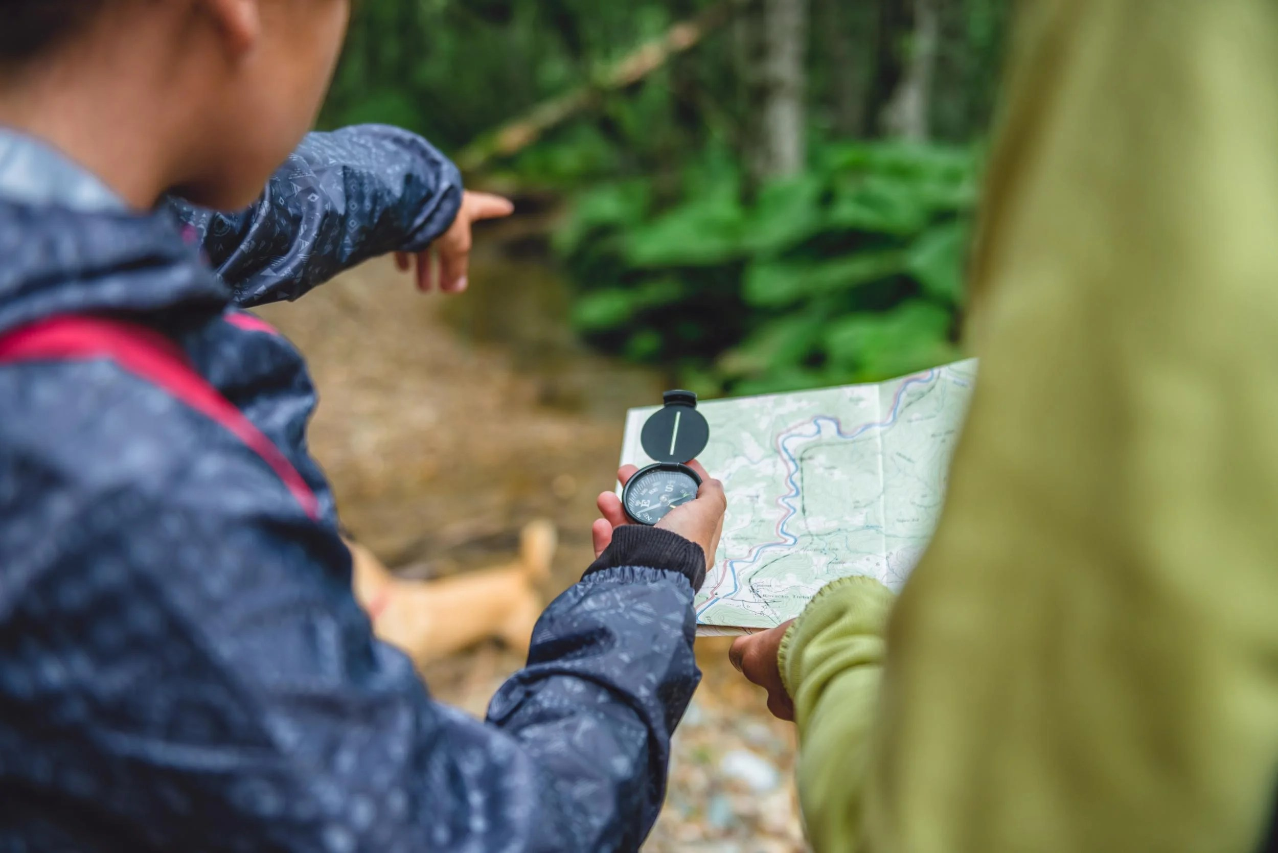 Map Reading How To Navigate On A Hike Without Using A