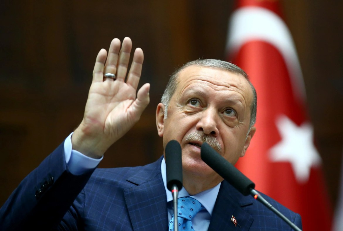 """""""Spirit of Hitler"""" was created in Israel under a new nation-state law, says Turkish President Erdogan"""
