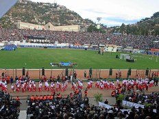 Image result for One killed as stadium stampede mars AFCON qualifier in Madagascar